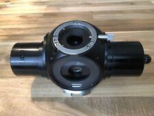 ZEISS Optovar Tube Head For Microscope Photomicroscope Universal Black