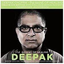 NEW 2 CD The Secret of Healing by Deepak Chopra
