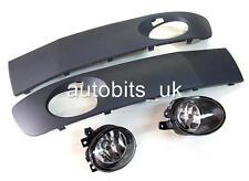 VW T5 TRANSPORTER 2009 2010 2011 2012 2014 FACELIFT FOG LIGHTS LAMPS & GRILLES