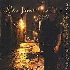 Alan James - Back Alley Blues - CD