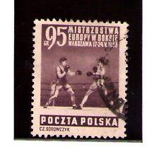 Polonia Boxeo Campeonato Europa año 1953 (Z-564)