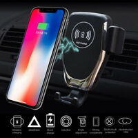 10W Qi Wireless Fast Charger Car Mount Holder Stand Auto Sensor Charging In DP