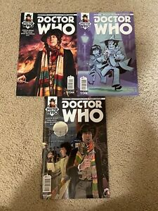Doctor Who Magazine Comic issues 1-3 lot