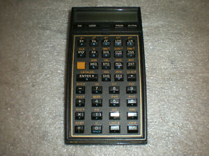 Hewlett Packard HP-41CX  HP 41 CX  Calculator