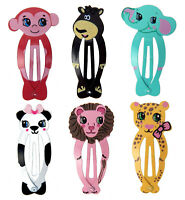 Ella Jonte Fille Pince à Cheveux Animaux Barrette Éléphant Singe Ours Panda Lion