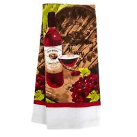 Home Collection Wine-Themed Kitchen Towels, 15x25 in. BRAND NEW