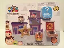 Disney Tsum Tsum Woody's Round Up (Jakks) Series 7 - 7 Pack Mini-Figures   NEW !