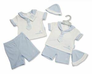 Baby Boys 3pcs set/Romper gift set 100%cotton (newborn-3months)