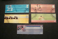 GB 2002  Commemorative Stamps~Commonwealth Games~Very Fine Used Set~UK Seller