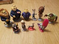 🌟Disney Zootopia Lot Action Figures 4inch 10 Pieces in total, High Quality!