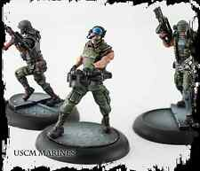 New AVP The Hunt Begins USCM colonial marines Miniatures