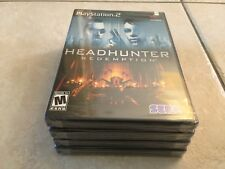 Headhunter: Redemption (Sony PlayStation 2, 2004) PS2 NEW