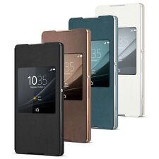 Genuine Sony Style Cover Window SCR30 Flip Case Sony Xperia Z3+ SCR 30 NEW