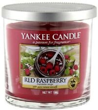 ❀ڿڰۣ❀ YANKEE CANDLE Small RED RASPBERYY Scented PILLAR CANDLE JAR ❀ڿڰۣ❀ New