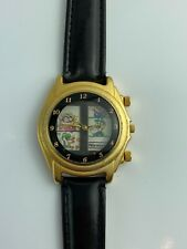 "1993 Nintendo SUPER MARIO BROS Collectable "" Movie Watch "" Scroll Wrist Watch"