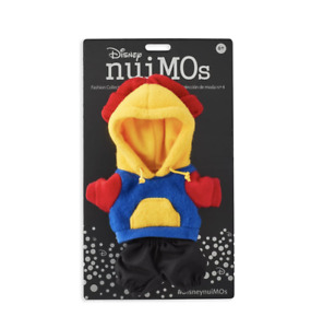 Disney NuiMOs Outfit Colorblock Sweatshirt with Red Beanie New with Card