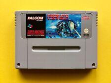 CYBERNATOR SNES Spiel SUPER Nintendo PALCOM Arcade Game PAL Set w NEU no OVP Box