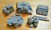 28mm Nomadic Merchant Cargo Set 1,Scatter, Terrain, Scenery for Wargames,