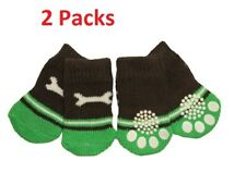 2 X Cute Wrench Design Anti-Slip Dog Socks Clean & Comfy Paws - Pets Puppy 4pcs