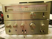 Lot of  Vintage Pioneer SA 6500 II Amplifier / Pioneer TX-6500 II Tuner.