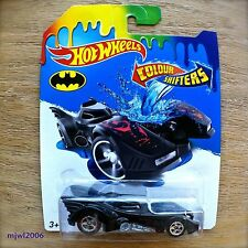 2015 Hot Wheels BATMOBILE Mattel COLOUR SHIFTERS COLOR from 1989 Batman movie