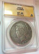 1928 P Peace Silver Dollar EF45--ANACS