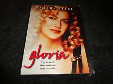 GLORIA-George C Scott, Sharon Stone is mobster's Ex with big attitude, big mouth