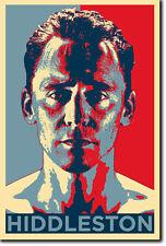 Tom Hiddleston Arte Foto Print (Obama esperanza) Cartel De Regalo