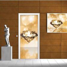 Vlies Fototapeten Fototapete Tapete Panel Wandbild DIAMANT BRILLANT 3FX012VET