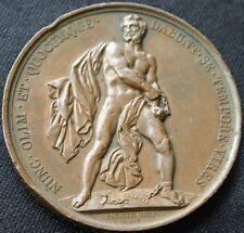 Polish November Uprising Bronze Medal 1832 Barre