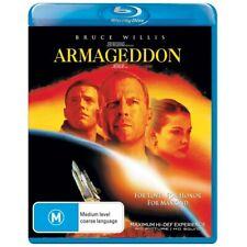 Armageddon (Blu-ray, 2010) - Bruce Willis - Like New -Movie - Action