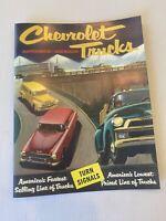Super Rare 1954 1955 First Series Chevrolet Truck Turn Signal Installation Book