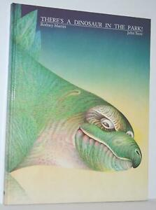 SIGNED There's A Dinosaur in the Park Rodney Martin John Siow Hardcover 1986