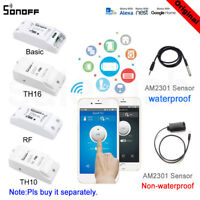 Sonoff ITEAD Module/433Mhz/WiFi Wireless Smart App Remote Control/ Pow Switch Sw