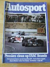 Cars, 1970s Autosport Transportation Magazines