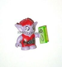 Lego Elves MiniFigure, JIMBLIN the Goblin, Lavender with Red Hair, 41183, New