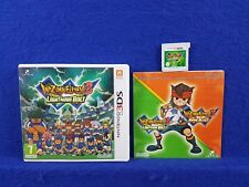 3DS INAZUMA ELEVEN 3 LIGHTNING BOLT Game Football Soccer Sports 3DS XL PAL UK