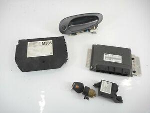 02-05 Porsche 911 Immobilizer Set Ignition Key Engine Module Handle OEM W/o Trbo