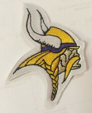 "Minnesota Vikings NFL Logo Patch / Crest Sew On / Iron On 3.5"" X2.5"""