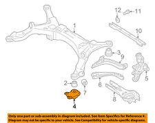 FORD OEM Rear Suspension-Susp Crossmember Bracket Left 5F9Z5084AA