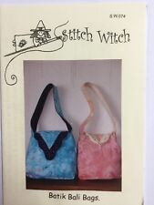 Quilting Pattern Patchwork Bag Stitch Witch