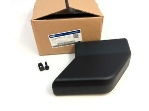 Ford Super Duty F-150 Black Right Front Running Board End Cap OEM FL3Z-16A454-CC
