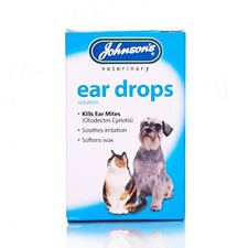 Johnsons Veterinary Products Ear Drops, clear