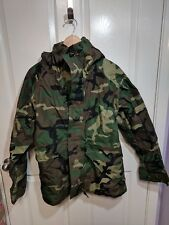 Camo ECWCS Wet Weather Parka Goretex Jacket Woodland Large Regular