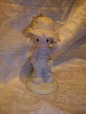 *Imperfect* Enesco Precious Moments My Love Will Never Let You Go Fisherman