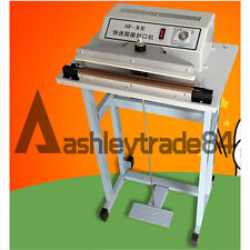 NEW Foot Pedal Impulse Sealer ,heat sealing machine,Plastic Bag sealer 800mm*3mm
