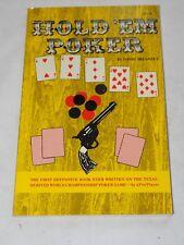 Hold Em Poker by David Sklansky paperback 63 pages