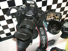 Canon EOS 700D/18.0MP Fotocamera Reflex Digitale-Nero con tre lenti