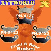 FRONT REAR Brake Pads POLARIS ATV 500 Magnum 4x4 HDS 2002 2003
