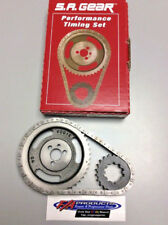 Small Block Chevy 283 327 350 400 9 Key .250 Roller Timing Set S.A. GEAR 78100-9